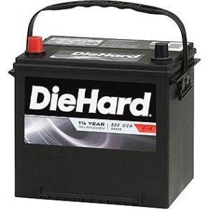 Diehard Battery Brand